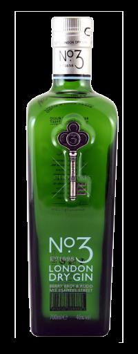 No.3 London Dry Gin  - 700ml