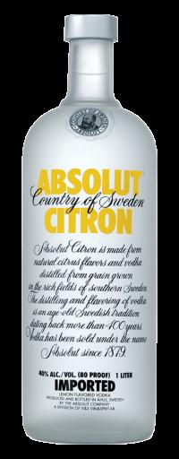Absolut Citron  - 750ml
