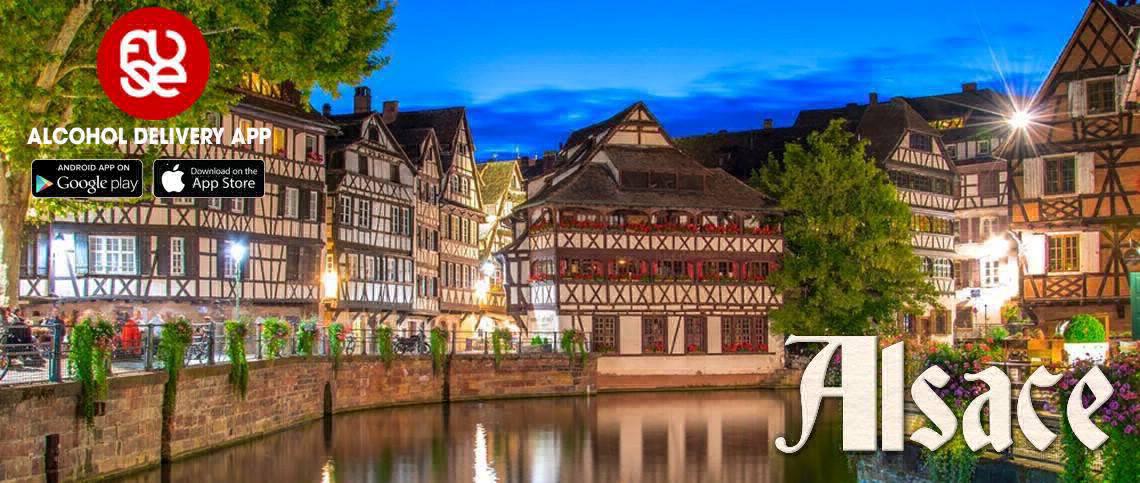 Alsace: Xứ sở vang trắng tuyệt hảo