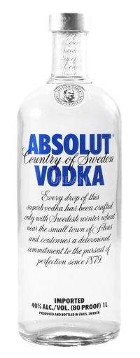 Absolut Vodka  - 750ml