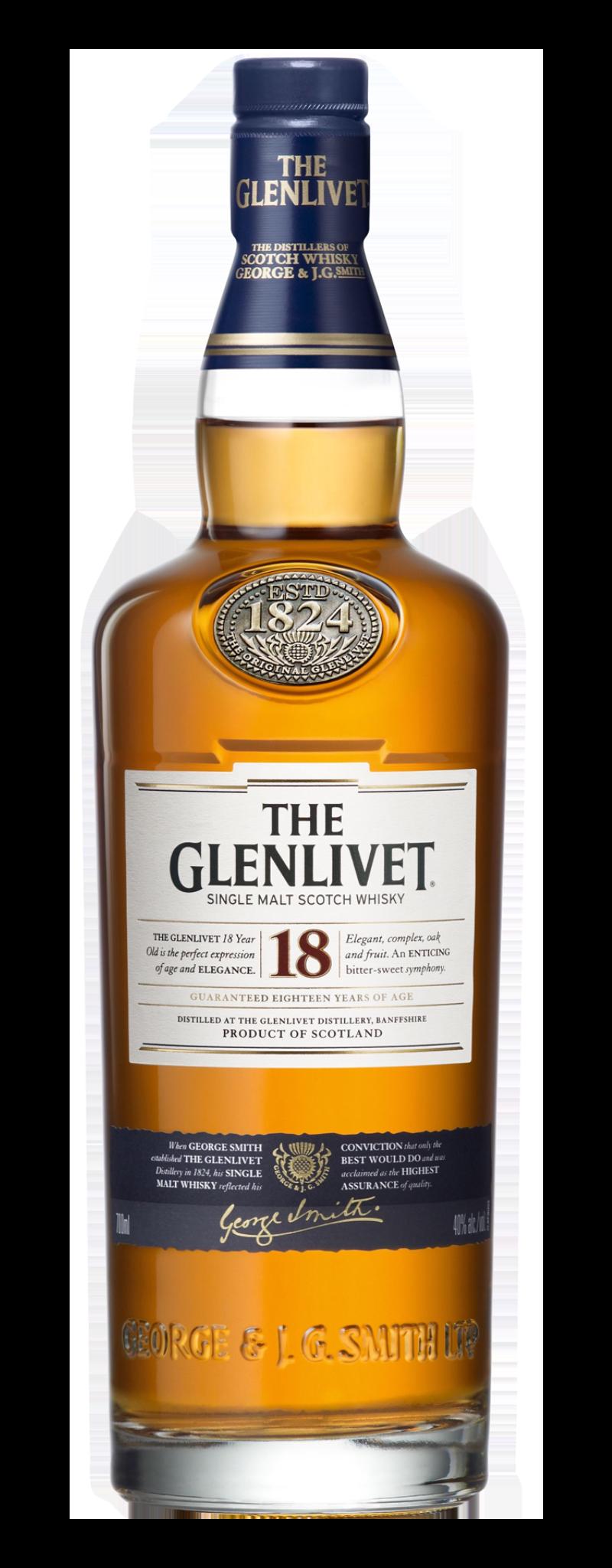 The Glenlivet 18 YO (18yo) - 700ml