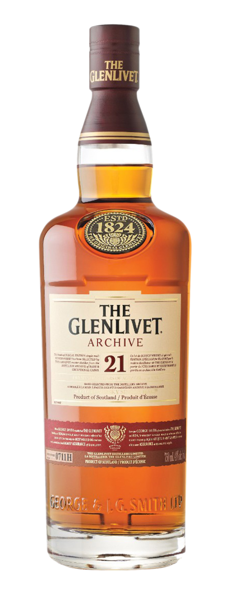 The Glenlivet 21 YO (21yo) - 700ml
