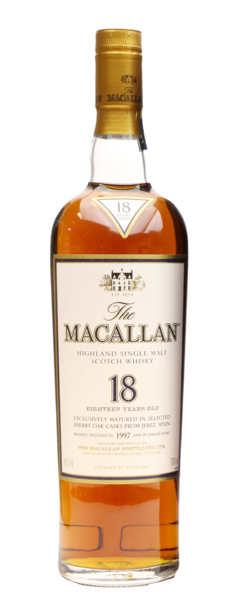 Macallan 18 Year Old (18yo) - 700ml