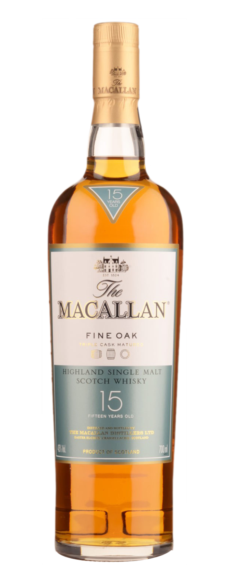 Macallan 15 Year Old (15yo) - 700ml