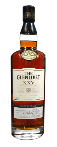 The Glenlivet 25 YO (25yo) - 700ml