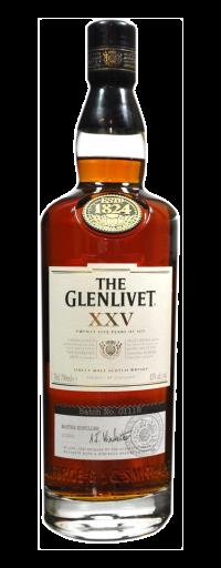 The Glenlivet 25 YO (25yo) - 700ml