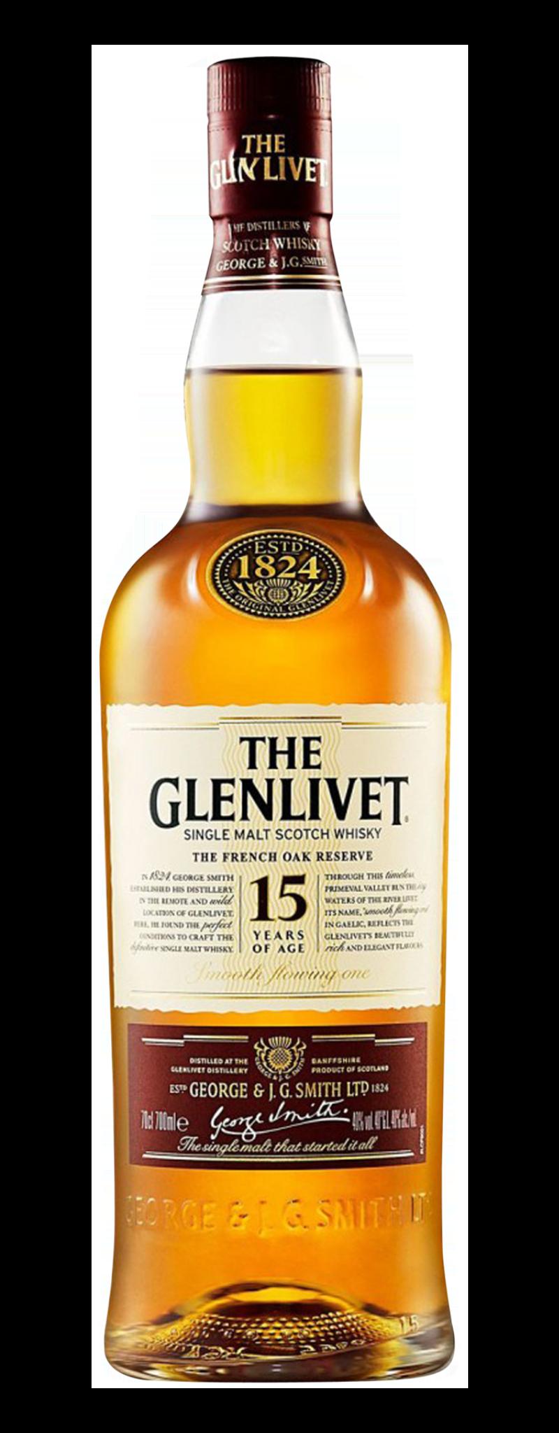 The Glenlivet 15 YO (15yo) - 700ml