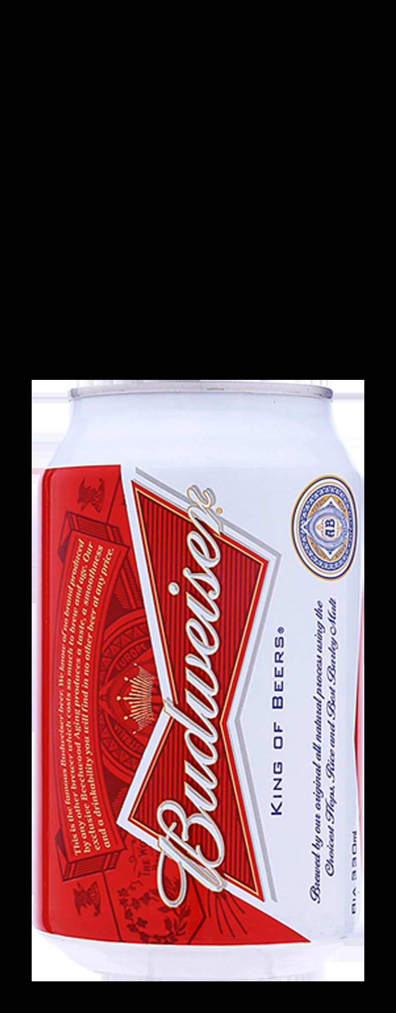 Budweiser (thùng 24 lon)  - 330ml