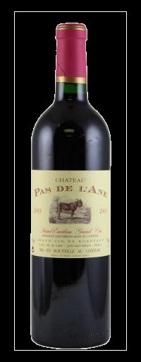 """Chateau Pas de l'Ane – Merlot / Cab """"St Emilion Grand Cru""""  - 750ml"""