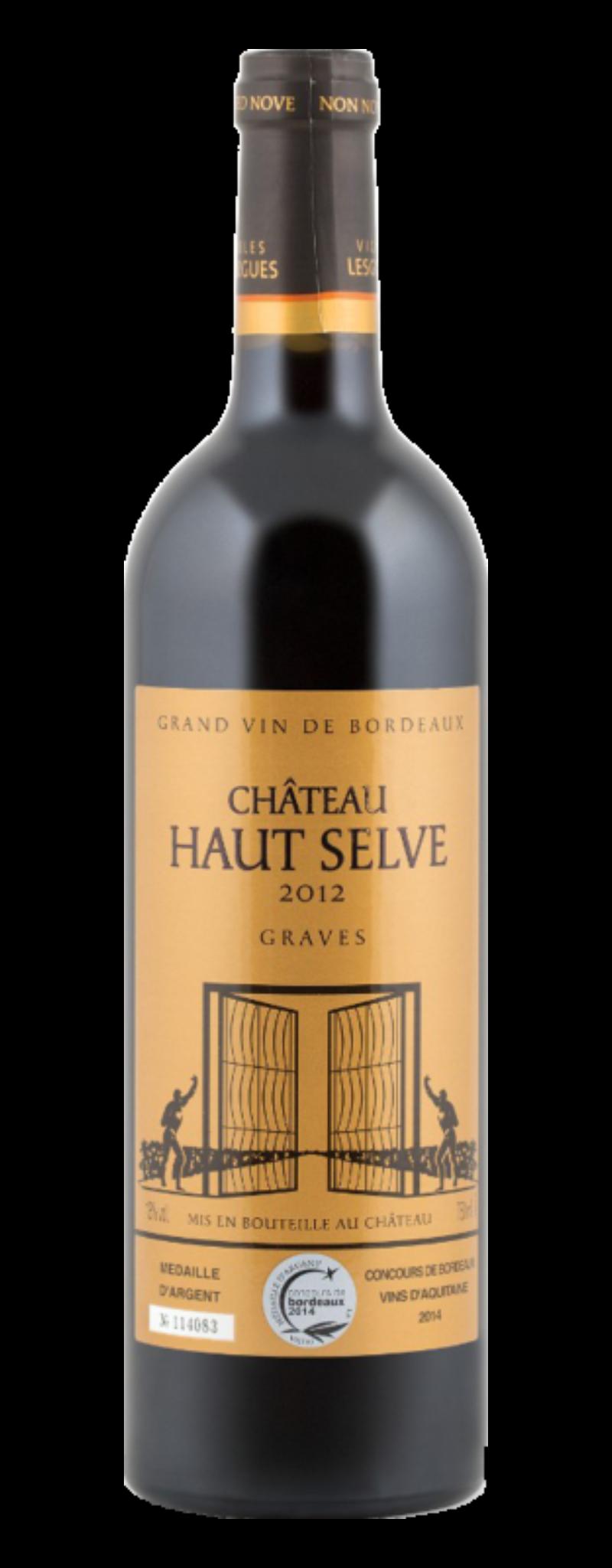 Chateau Haut Selve – Cabernet Sauv / Merlot  - 750ml