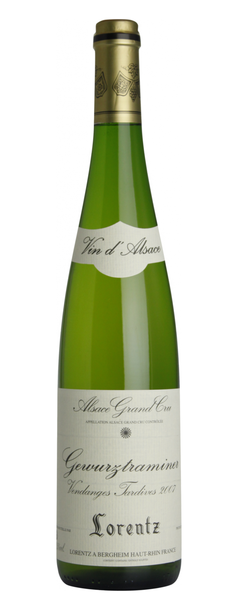 Gustave Lorentz - Gewuztraminer Vendanges Tardives  - 750ml