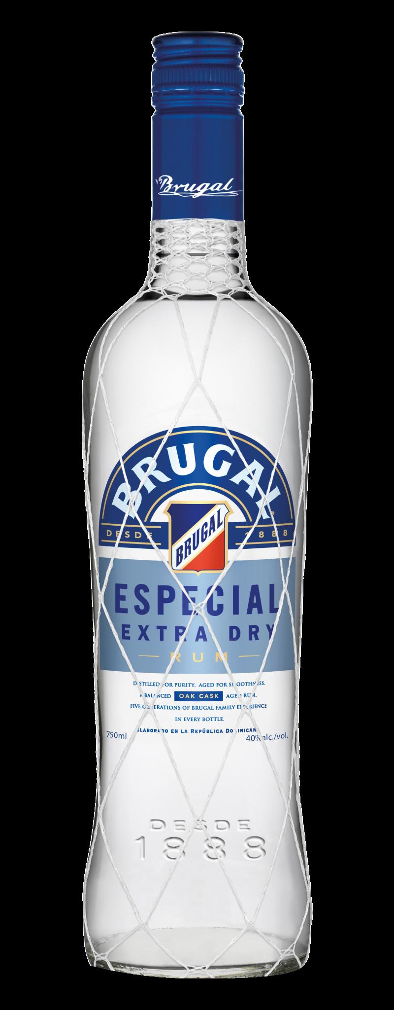 Brugal Rum Especial Extra Dry White Rum  - 700ml