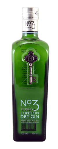 No.3 London Dry Gin  - 700ml
