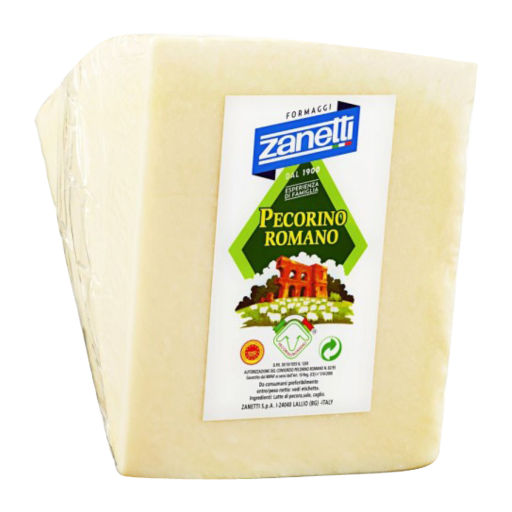 Zanetti Pecorino Romano D.O.P. 1/8 of Wheel