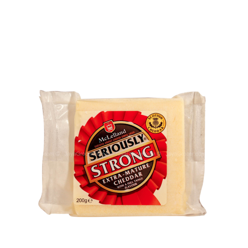 McLelland Mild Red Cheddar Block 2.5kg