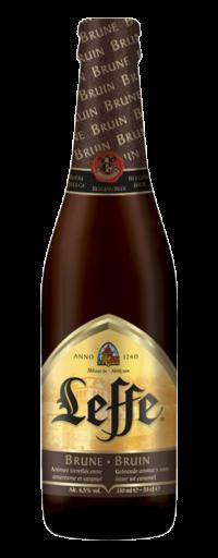 Leffe nâu (thùng 24 chai)  - 330ml