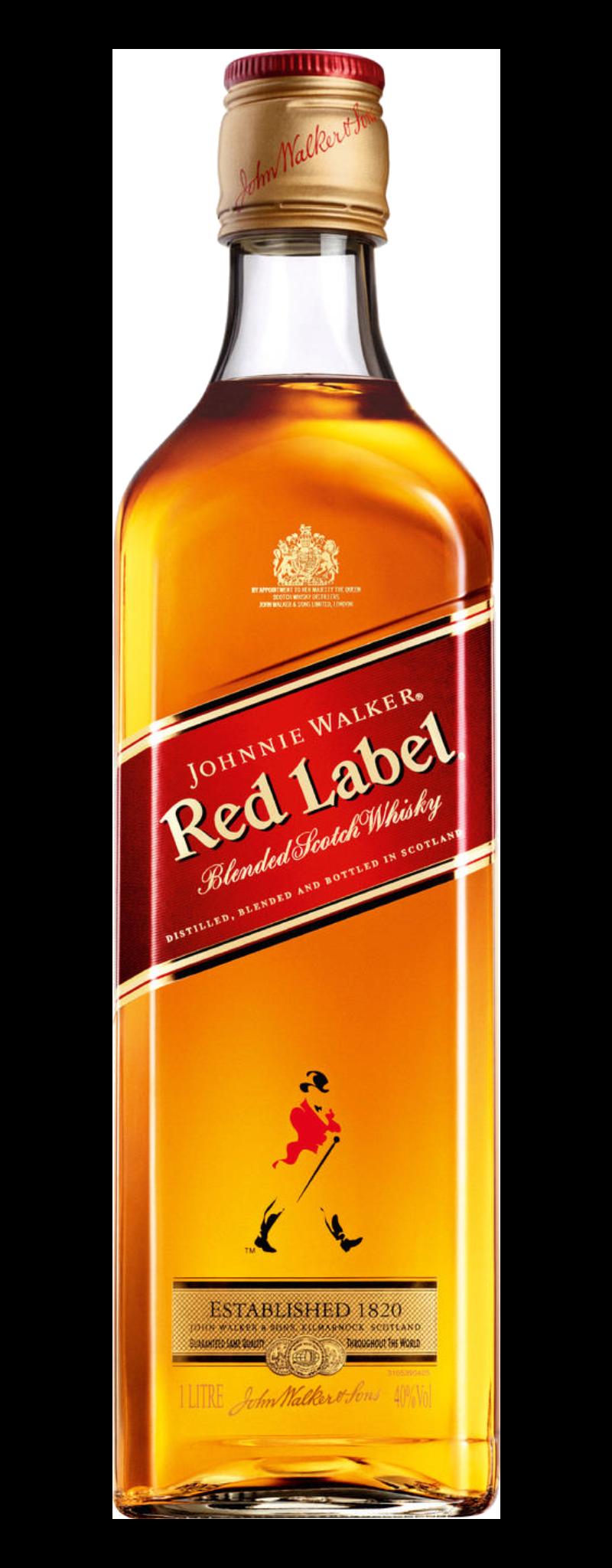 Johnnie Walker Red label  - 750ml