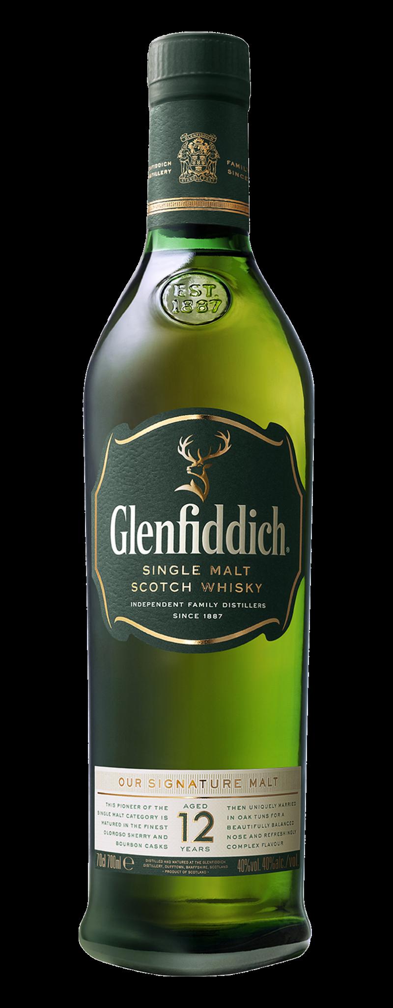 Glenfidich 12 yo  - 750ml