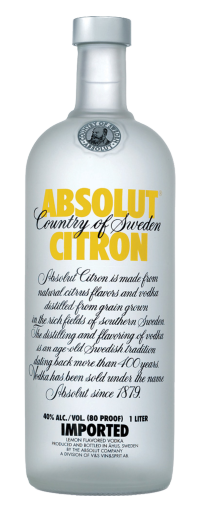 Absolut Citron  - 750ml