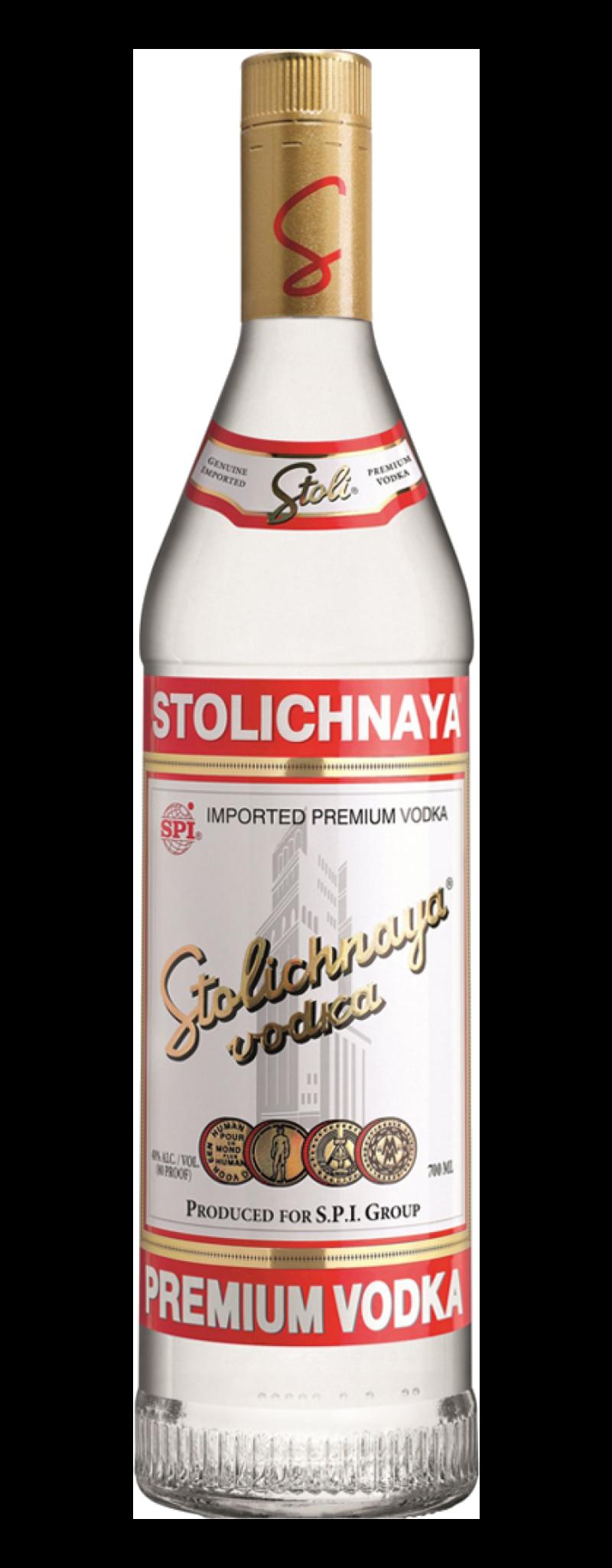Stolichnaya Vodka  - 750ml