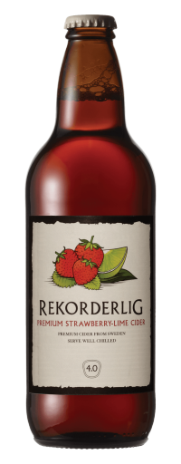 Rekorderlig Premium Strawbery Lime Cider (6 chai)  - 330ml