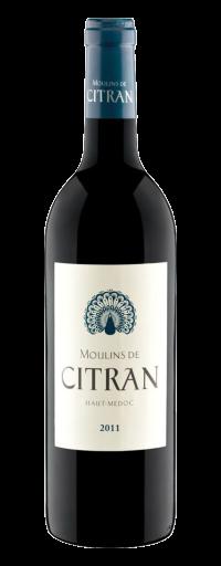 Les Moulins de Citran - Médoc  - 750ml