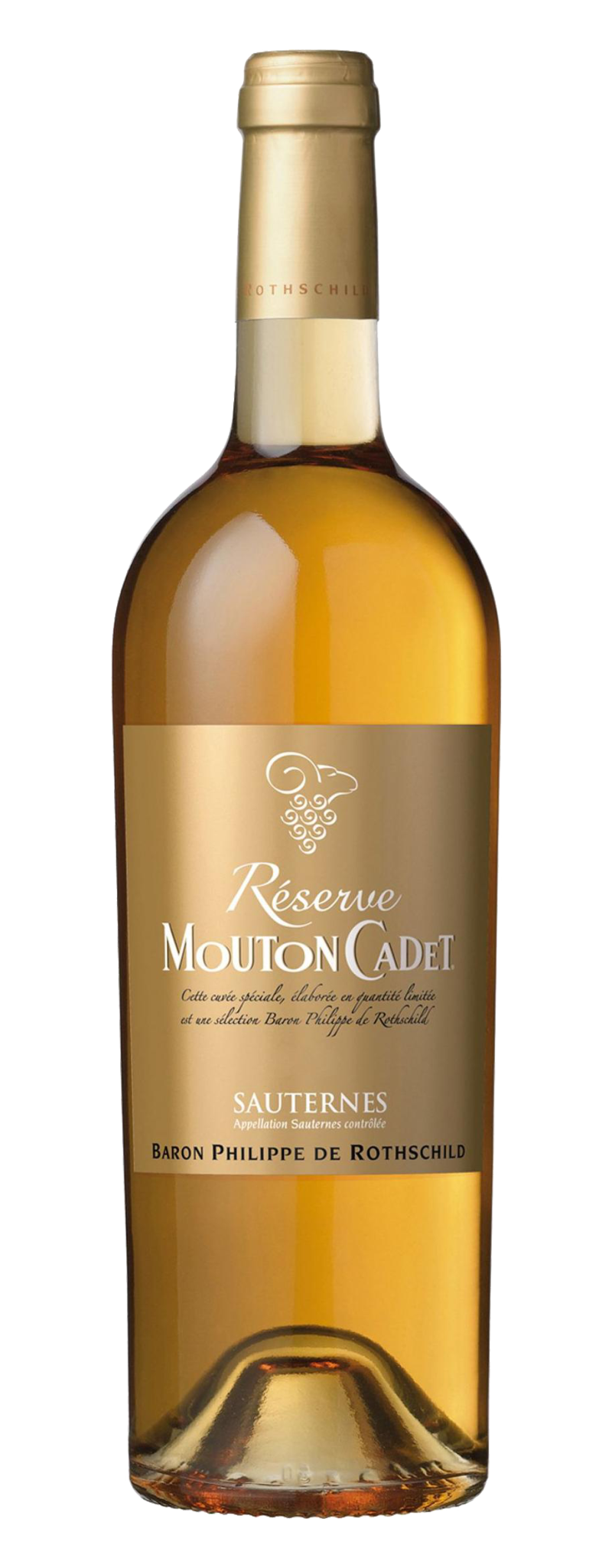 Rothschild - Mouton Cadet Reserves Sauternes 37,5 cL  - 375ml