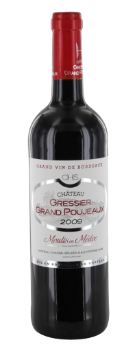 Gressier Grand Poujeaux - Moulis en Médoc  - 750ml