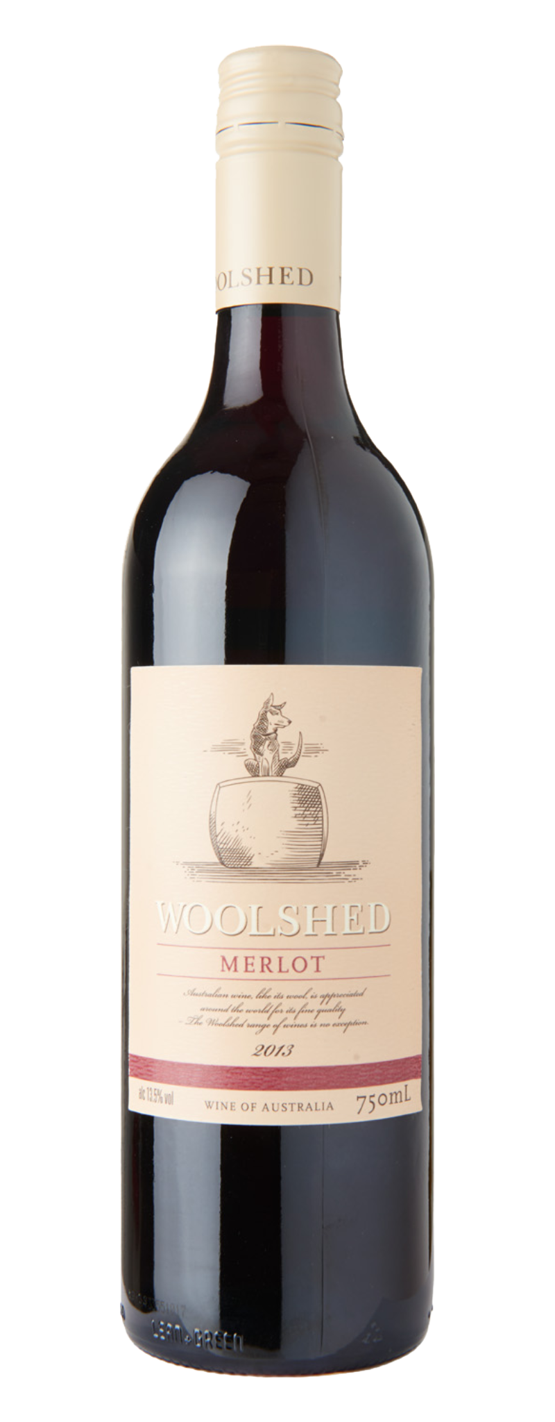 Woolshed Merlot  - 750ml