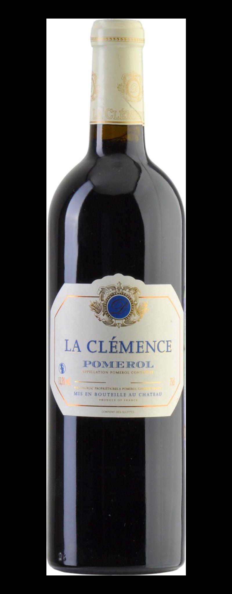 Château La Clemence - Pomerol  - 750ml