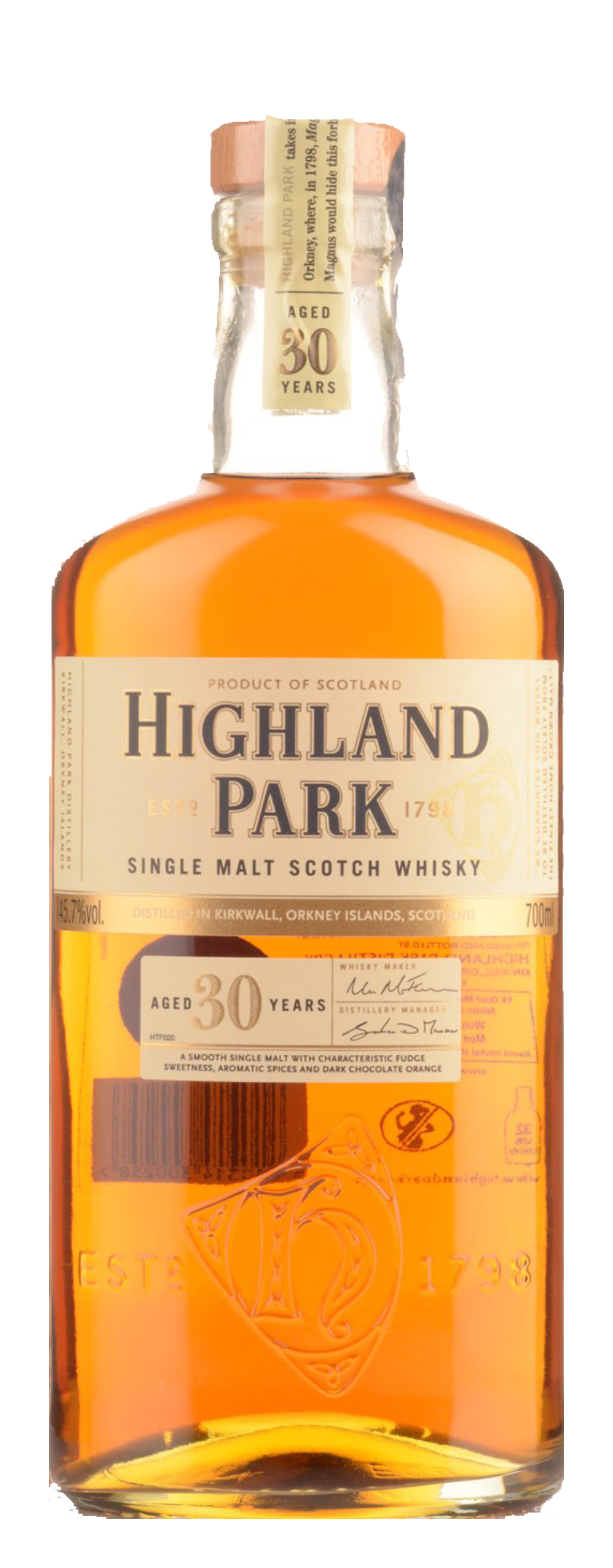 Highland Park 30 Years Old  - 700ml