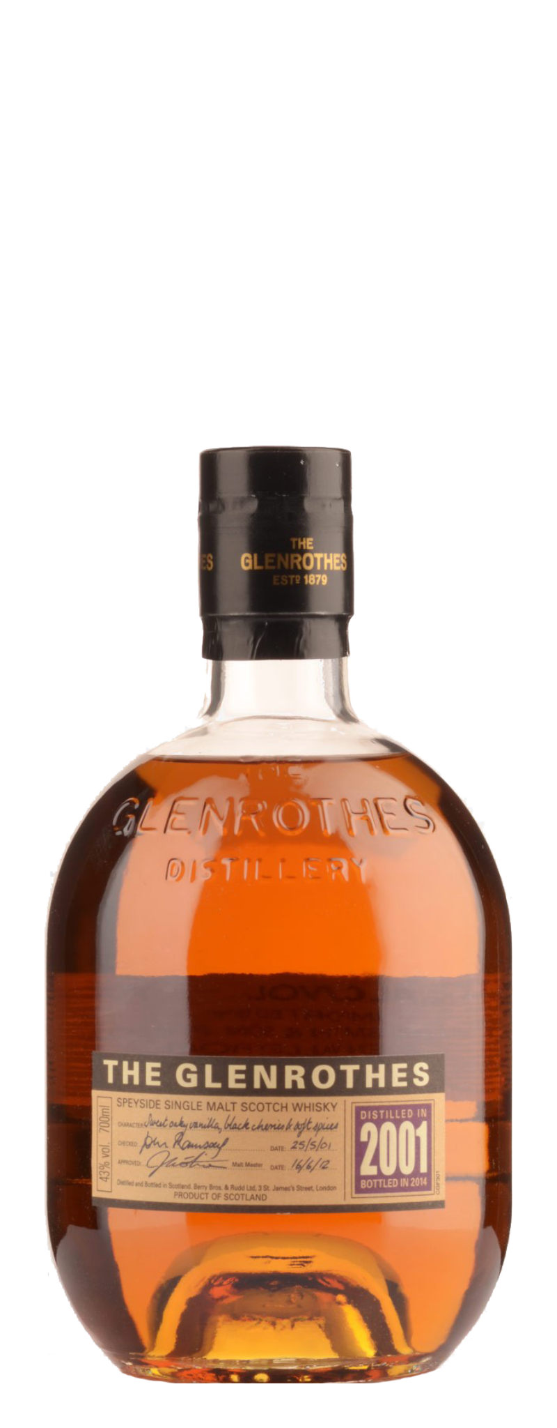 The Glenrothes 2001 Vintage  - 700ml