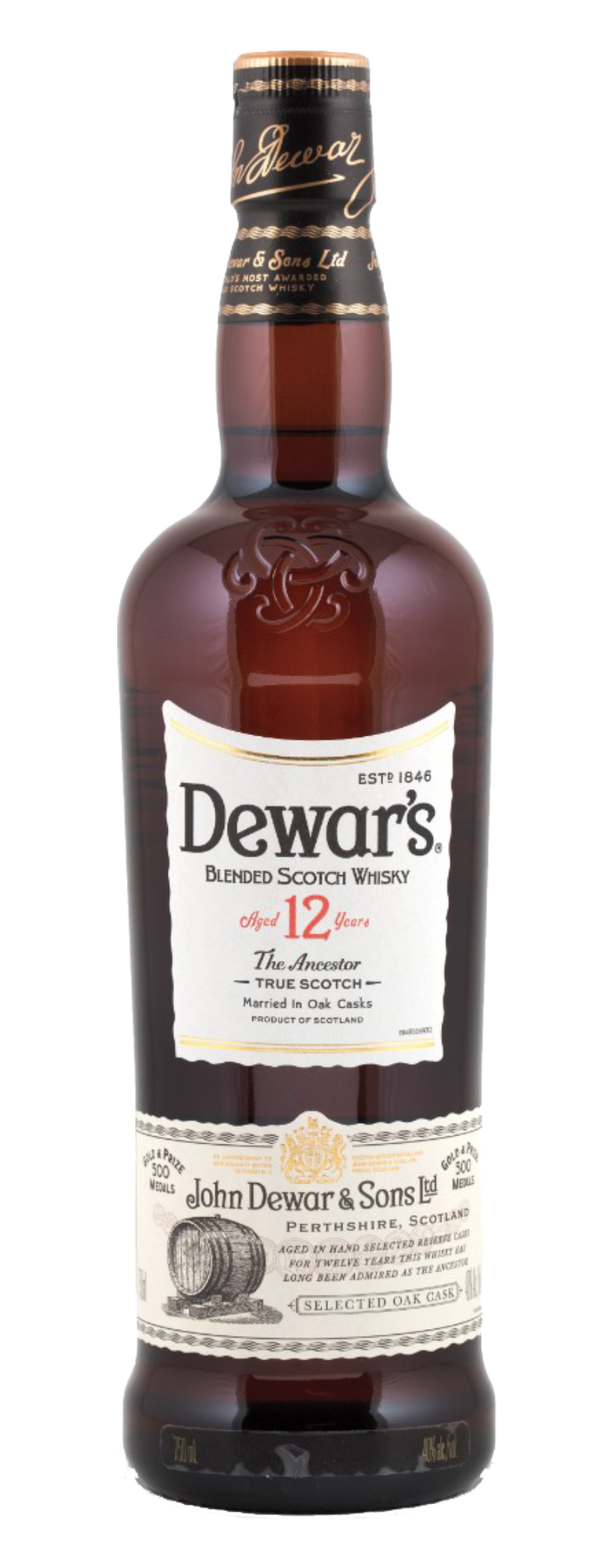 Dewar's The Ancestor 12 Years Old  - 750ml