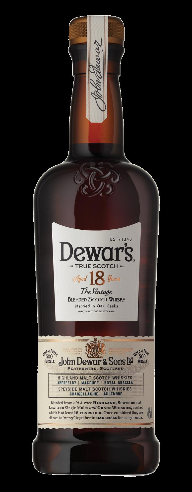 Dewar's The Vintage 18 Years Old  - 750ml