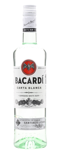 Bacardi Superior Carta Blanca White Rum  - 350ml