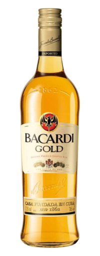 Bacardi Superior Carta Oro Gold Rum  - 750ml