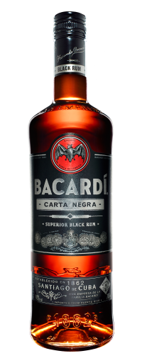 Bacardi Superior Carta Negra Dark Rum  - 750ml