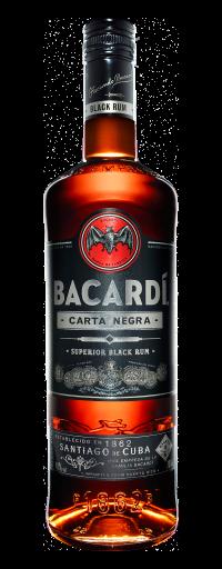 Bacardi Superior Carta Negra Dark Rum  - 750ml