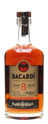 Bacardi Superior Carta Ocho 8 Rum  - 750ml