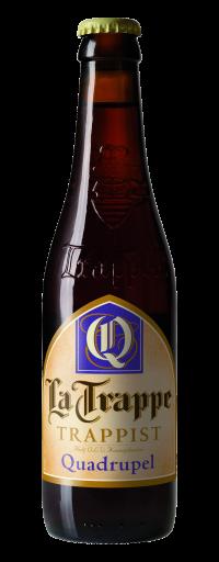 La Trappe Quadrupel (24 chai/thùng)  - 330ml