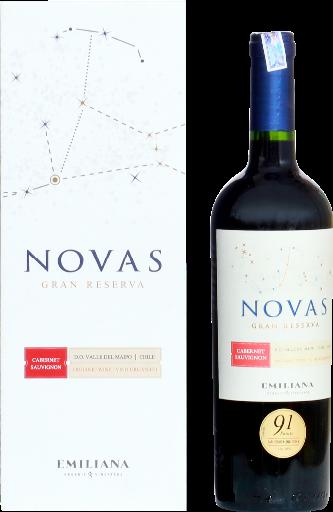 Novas Gran Reserva Cabernet Sauvignon, ORGANIC WINE  - 750ml