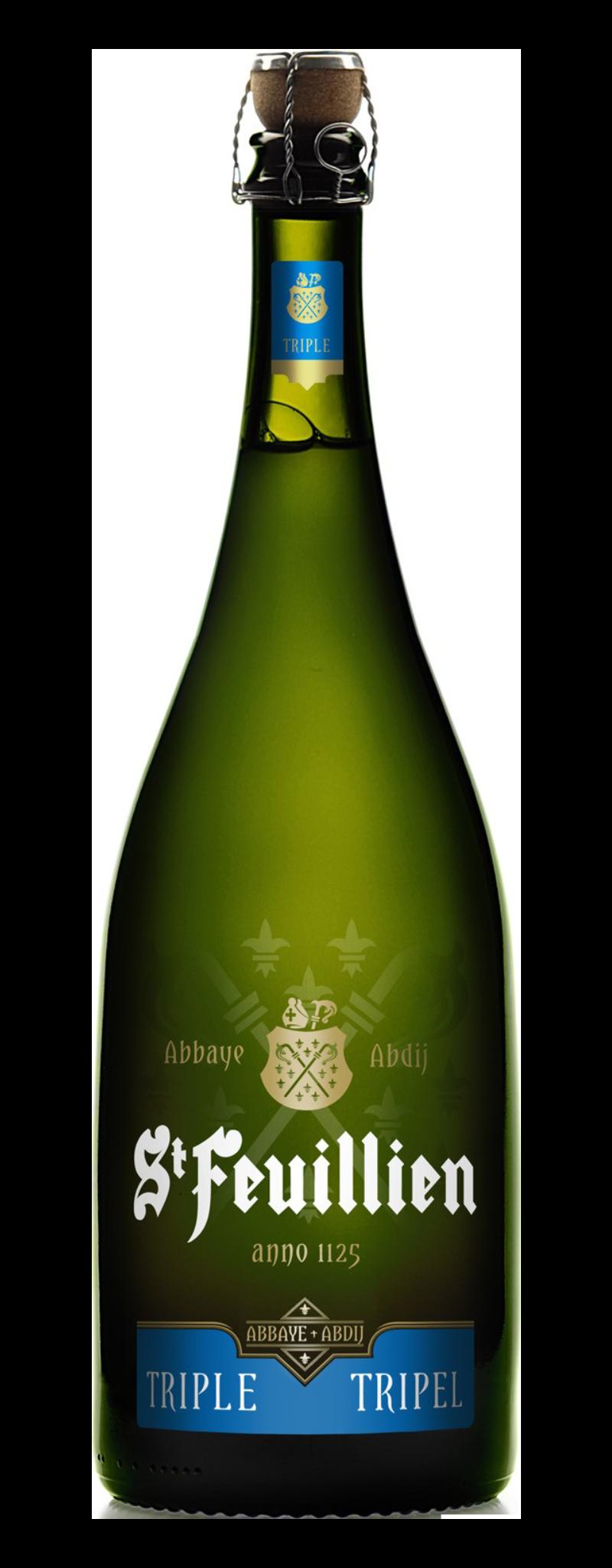 St-Feuillien Triple (1chai/thùng)  - 9L