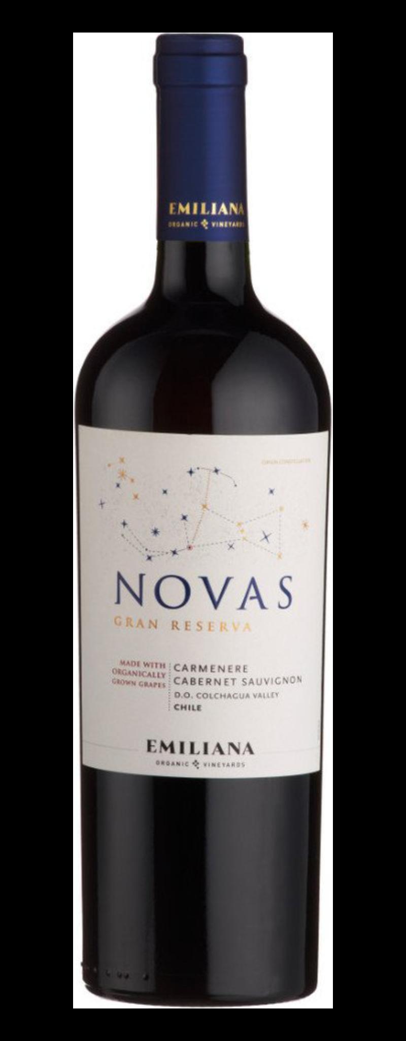 Novas Gran Reserva Carmenere Cabernet Sauvignon  - 750ml