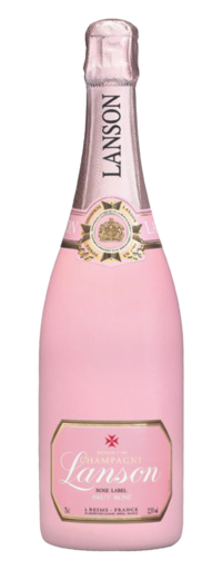 Champagne Lanson Rose Label  - 750ml