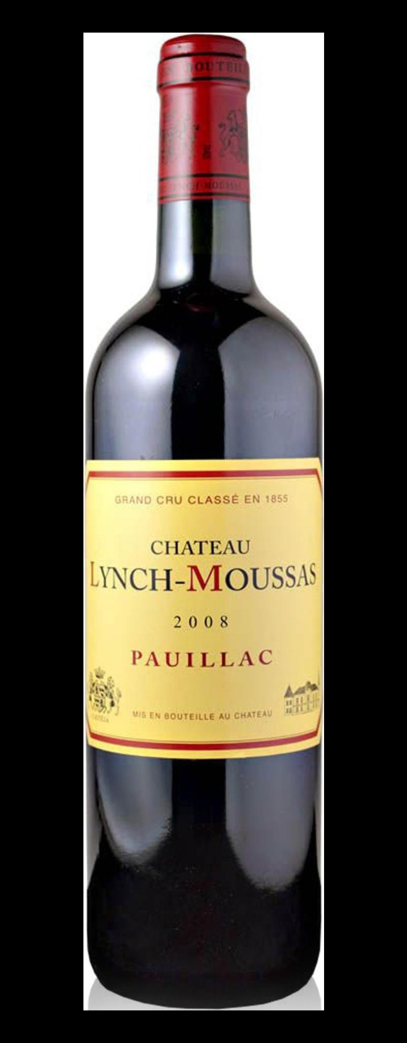 Chateau Lynch Moussas 2008  - 750ml