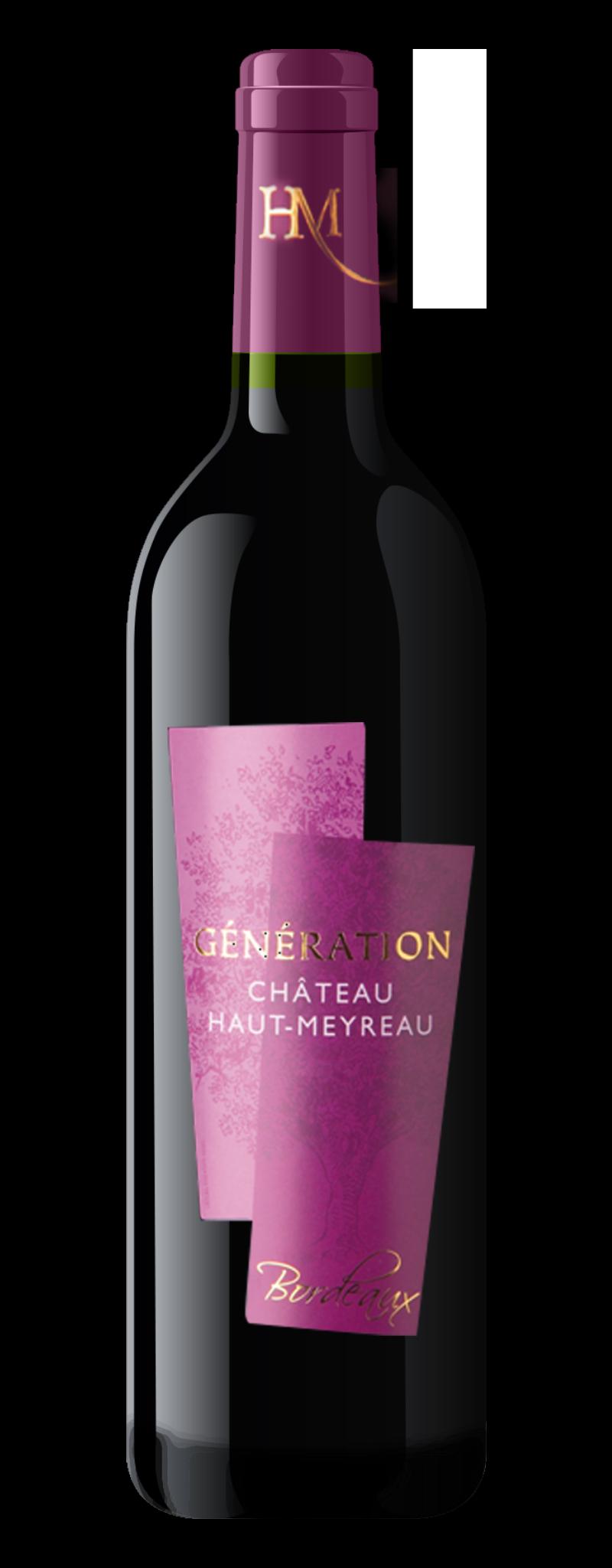 Château Haut Meyreau Génération Bordeaux 2016  - 750ml