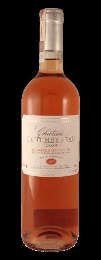 Château Haut Meyreau Bordeaux Rose 2015  - 750ml