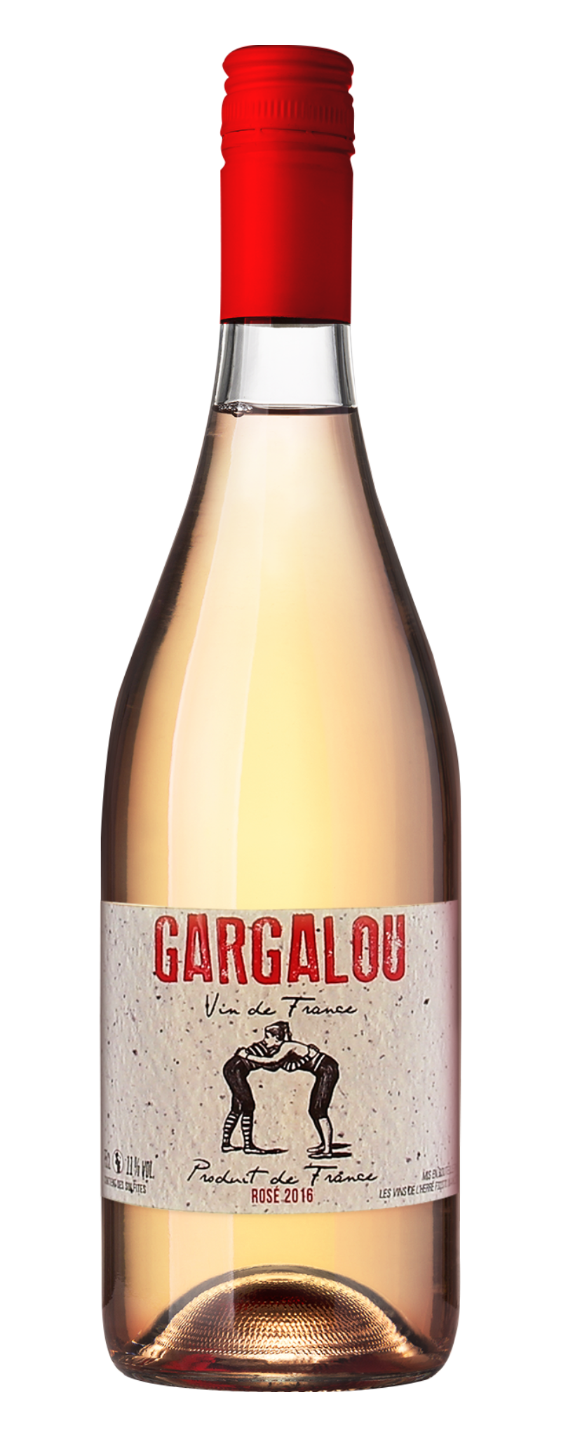 GARGALOU ROSE  - 750ml