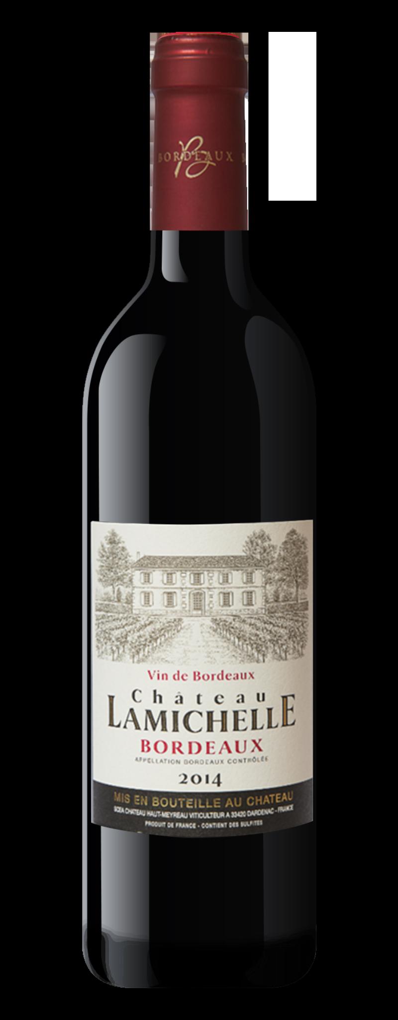 Chateau Lamichelle Bordeaux 2015  - 750ml