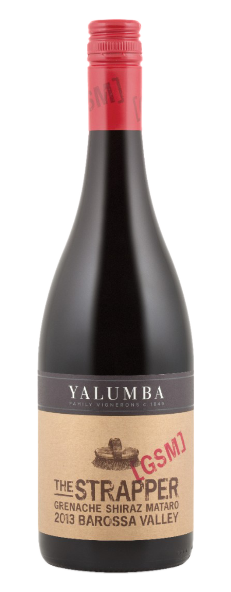 "Yalumba ""The Strapper"" GSM  - 750ml"